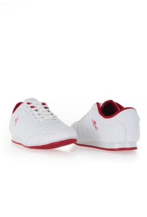 Erbilden Spr Beyaz Cilt Erkek Spor Ayakkabı