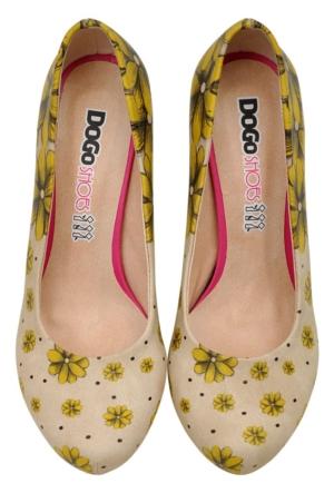 DogoStore Call Me Daisy Kadın Ayakkabı