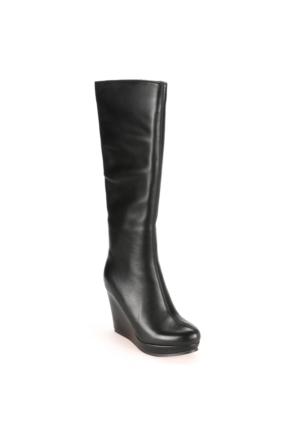 Miss F F15016 Siyah Kadın Çizme