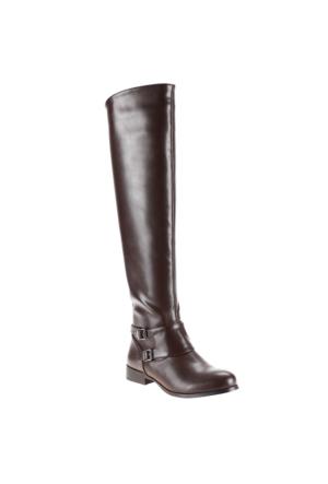 Polaris 52.308081.Z Kahverengi Kadın Çizme