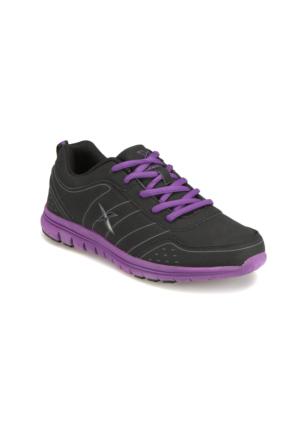 Kinetix A1311056 Siyah Mor Kadın Koşu Ayakkabısı