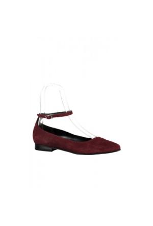 Elle Ceyla Bayan Ayakkabı Bordo