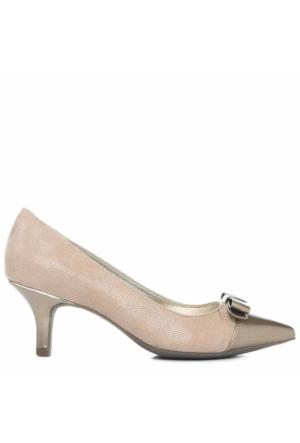Anne Klein Akflouncy2 Vizon Kumaş Kadın Ayakkabı