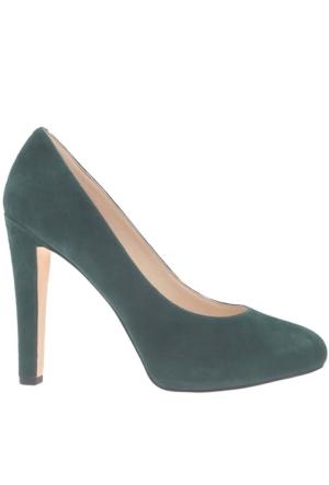 Nine West Nwbrıelyn Yeşil Gerçek Süet Kadın Ayakkabı