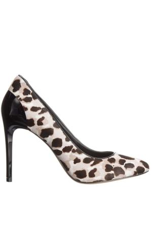 Nine West Nwyellıa5 Gri Leopar Tüy Dokulu Kadın Ayakkabı