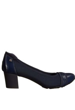 Anne Klein Akguardıan2 Lacivert Kumaş Ve Sentetik Kadın Ayakkabı