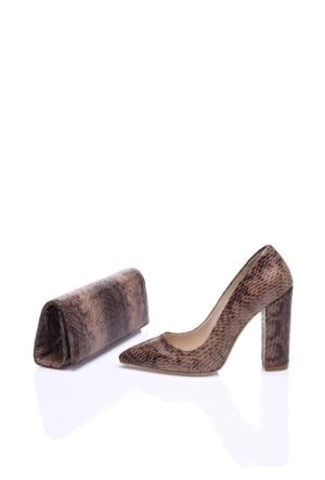 Elena Blanca 408 12Z 0252 Kadın Ayakkabı Set