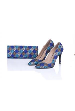 Lorawest Ajx 25 Acz 0252 Kadın Ayakkabı Set