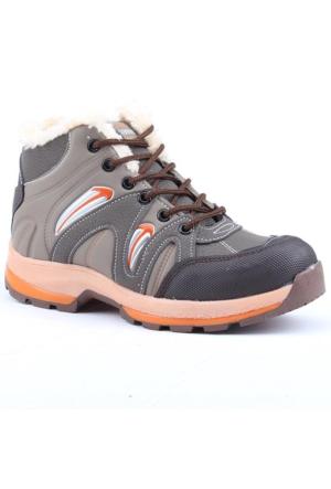 Zümrüt 2703-T İçi Termal Kürklü Erkek Çoçuk Spor Bot Ayakkabı