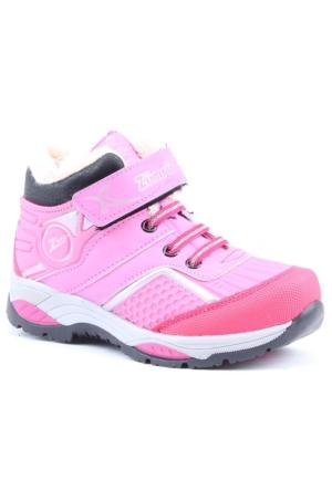 Zümrüt 2704 P İçi Termal Kürklü Kız Çocuk Spor Bot Ayakkabı