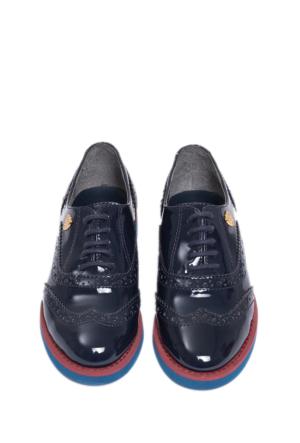U.S. Polo Assn. K6Lux Kız Çocuk Ayakkabı Lacivert 50155045-200