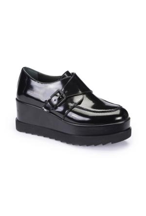 Polaris 62.309168.Z Siyah Kadın Ayakkabı
