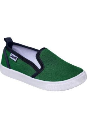 Sanbe 402 H 113 Keten Ayakkabı Yeşil