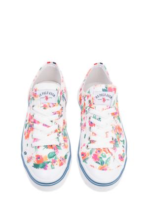 U.S. Polo Assn. Kadın Ayakkabı 50148318-999 Y6Linen