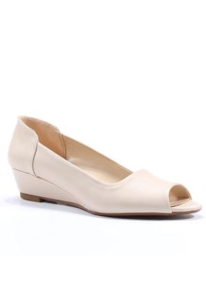 Asm Dolgu Topuk 5Cm Bayan Ayakkabı