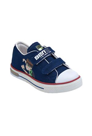 Ben Ten Dekan Lacivert Erkek Çocuk Sneaker Ayakkabı