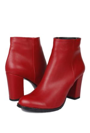 Erkan Kaban 375512 031 559 Kadın Kırmızı Bot