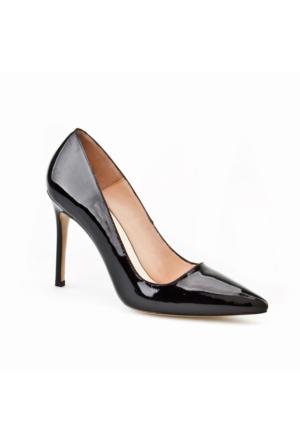 Cabani Stilletto Günlük Kadın Ayakkabı Siyah Rugan