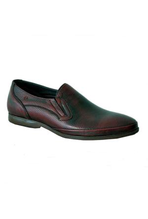 Mammamia 7020 Hakiki Deri Erkek Ayakkabı Bordo