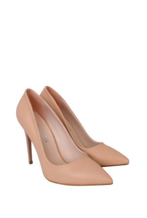 Mina Moor Ayakkabı Ten Klasik Bayan Ayakkabı 1770