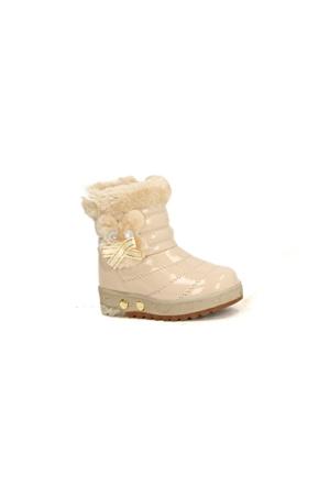 Twingo 9015 İçi Termal Kürklü Işıklı Kız Çoçuk Bot Ayakkabı