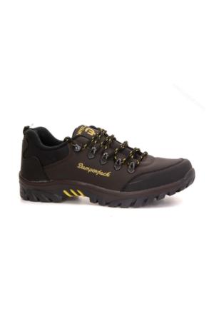 Damper Jack 803 Bağcıklı Kışlık Erkek Çocuk Kısa Bot Ayakkabı