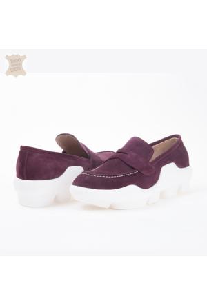 Dyn Spor Kadın Ayakkabı Bordo