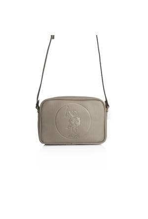 U.S. Polo Assn.Altın Çapraz Bayan Çantası Us9021