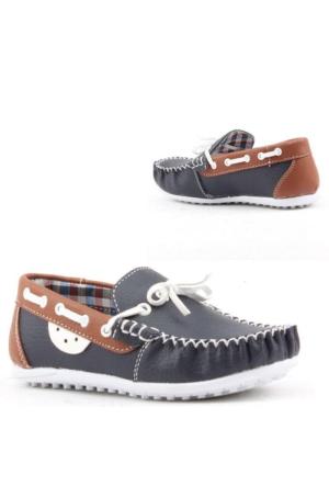 Fibinacci 1480-3 Günlük Erkek Çocuk Ayakkabı Fiyonklu