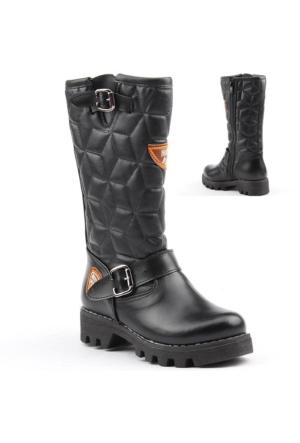 Benim 4250 Kız Çocuk Kışlık Uzun Çizme Bot Ayakkabı
