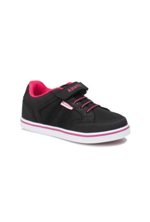Kinetix Pasena Siyah Fuşya Beyaz Kız Çocuk Sneaker Ayakkabı