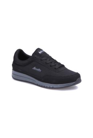 Kinetix Fiore Siyah Gri Kadın Sneaker Ayakkabı