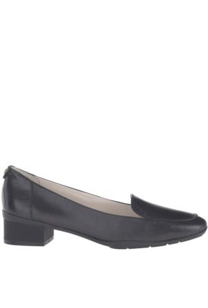 Anne Klein Kadın Akdaneen Siyah Gerçek Deri Ayakkabı
