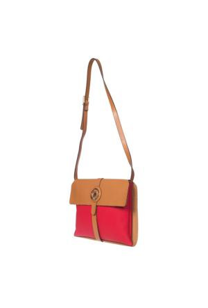 U.S. Polo Assn. US6069 Kadın Çapraz Çanta Kırmızı