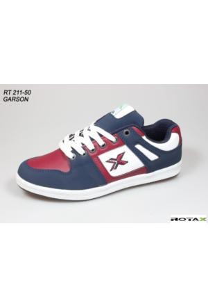 Rotax 211-50 Beyaz Bordo Lacivert Bayan Spor Ayakkabı