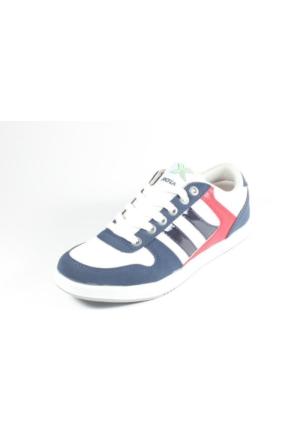 Rotax 211-55 Beyaz Lacivert Kırmızı Bayan Spor Ayakkabı