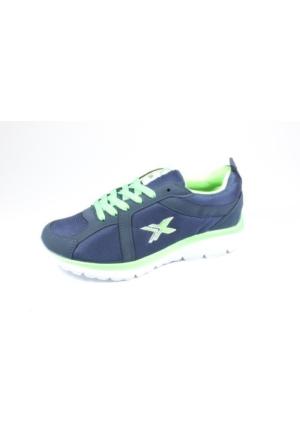 Rotax-211-72 Lacivert Fıstık Yeşil Bayan Spor Ayakkabı