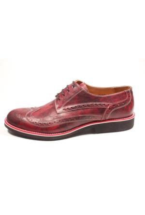 Pablo 223-2287 Kırmızı Erkek Klasik Ayakkabı