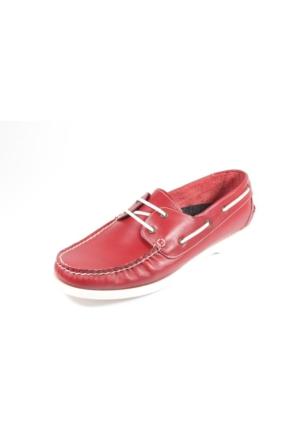 Commodore 218-957-1 Bordo Erkek Ayakkabı