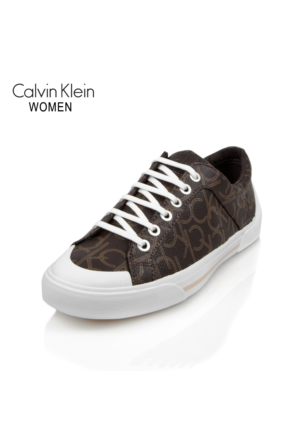 Calvin Klein N12016 Brn Ck Giselle İconogram Rubber Outsole Brow Ayakkabı