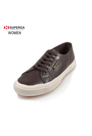 Superga 2750-Microfiberpuu G08 S009Yp0 X01679 Full Dk Chocolate Ayakkabı