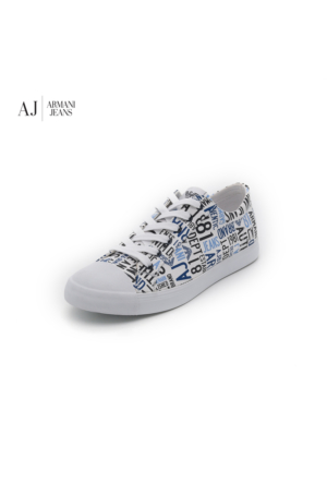 Armani Jeans Ayakkabı C65561610 Armani Men Footwear Bianco - White