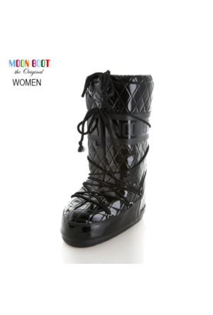 Moon Boot 14014100-001 Queen Black Bot