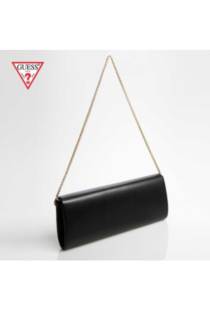 Guess Çanta Hwamy1 L5326 Guess Amy Clutch Black