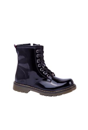 Slazenger Usman Bot Çocuk Ayakkabı Siyah