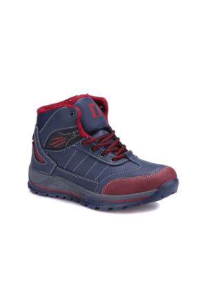 I Cool Ic112 Lacivert Kırmızı Erkek Çocuk Outdoor Ayakkabı
