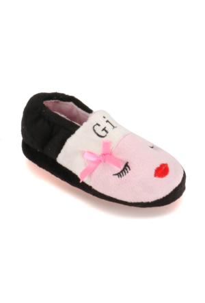 Pink Step A3310279 Siyah Kız Çocuk Panduf