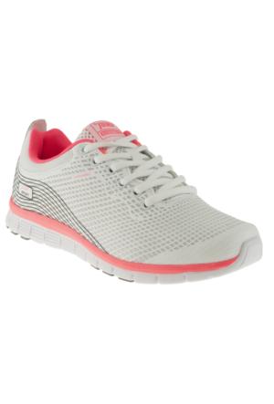 Jump 12529 Bağlı Beyaz Bayan Spor Ayakkabı
