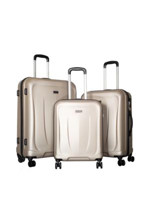 Pierre Cardin Polycarbonate Pc3500 Valiz Set Altın