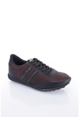 Trione 509-3517-1001 Kahve-Siyah Kadın Spor Ayakkabı